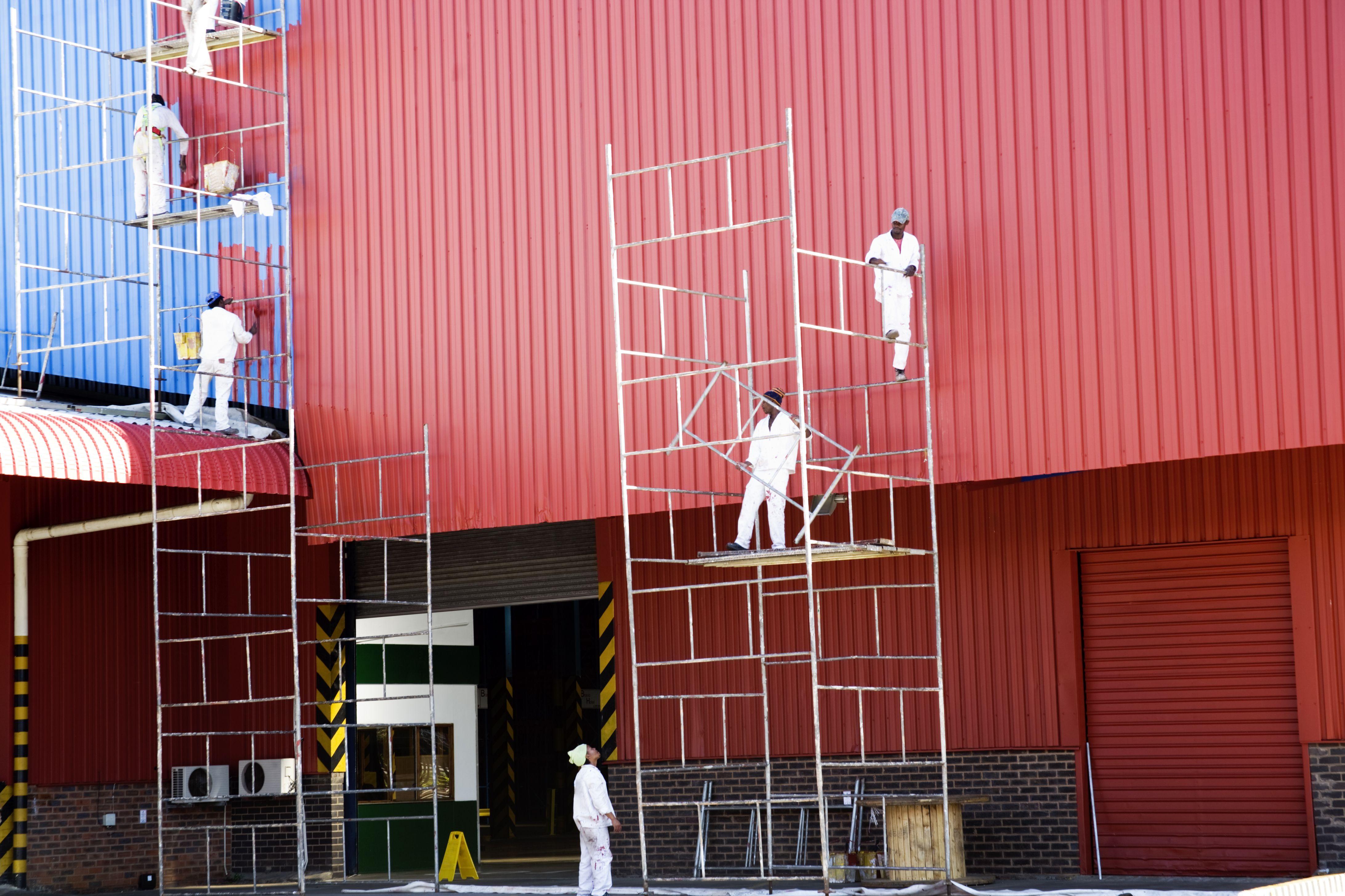 Especializados en pintura de fachadas