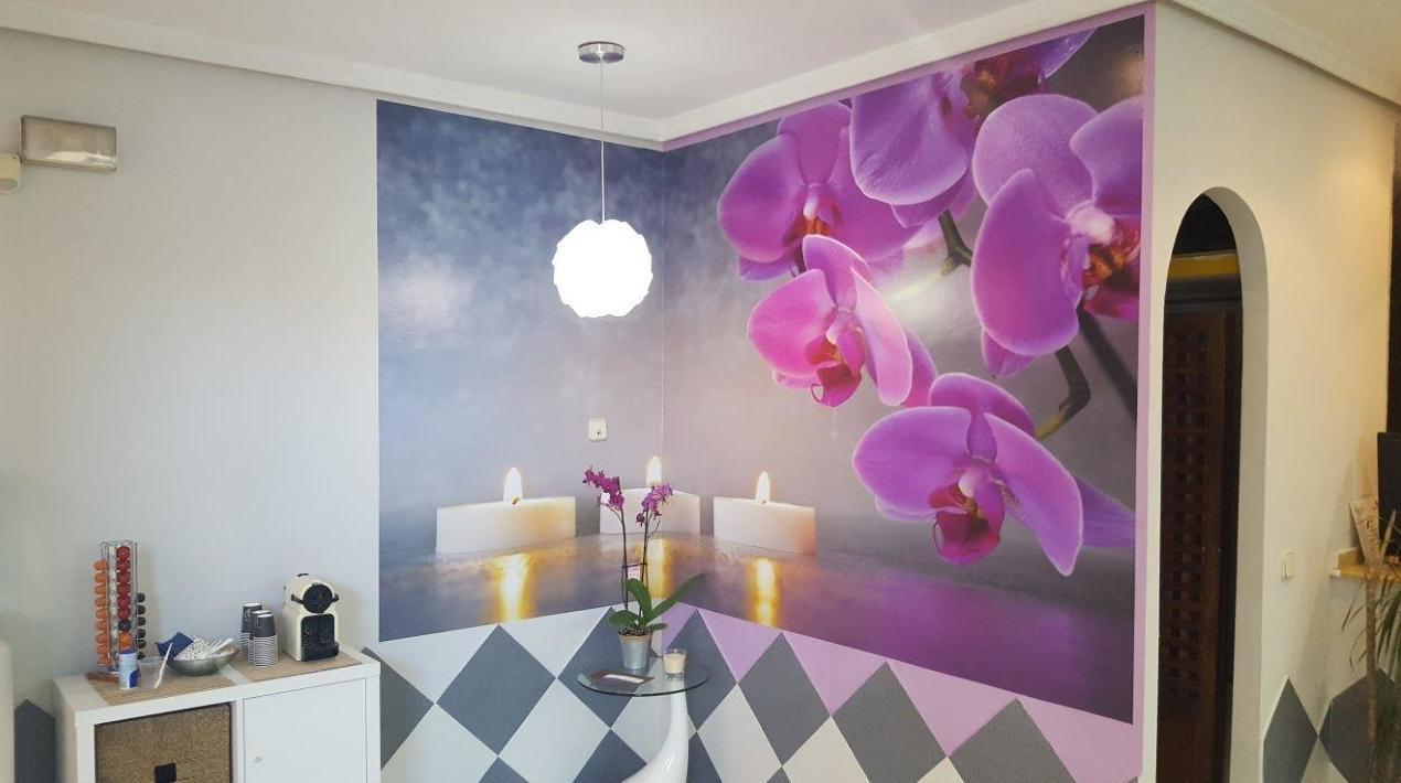 Vinilos murales de interior