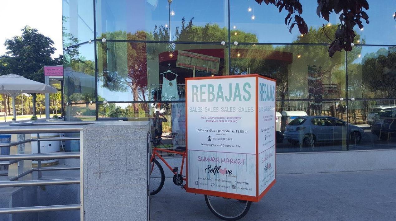 Publicidad en triciclos BTL