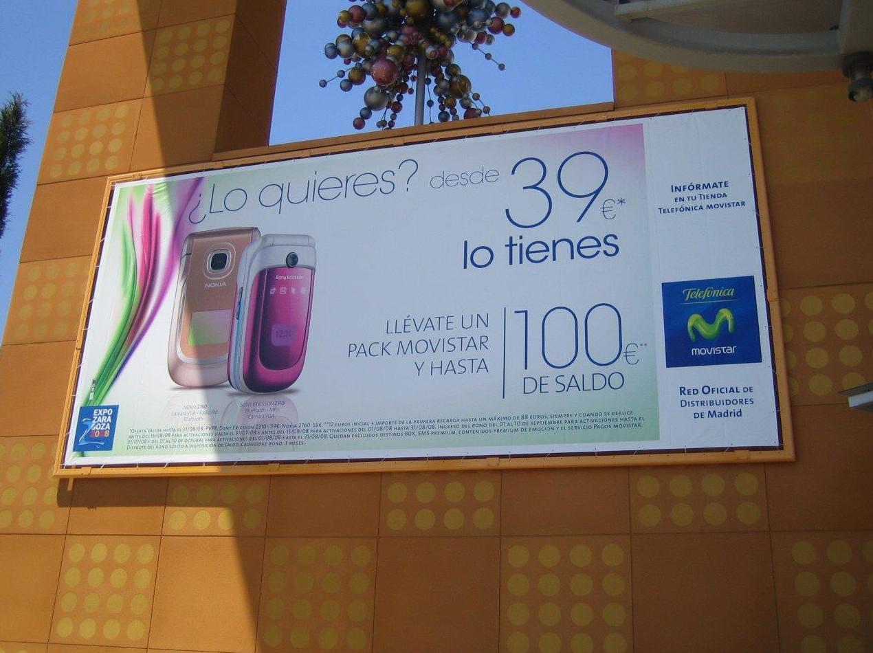Soportes publicitarios en Madrid