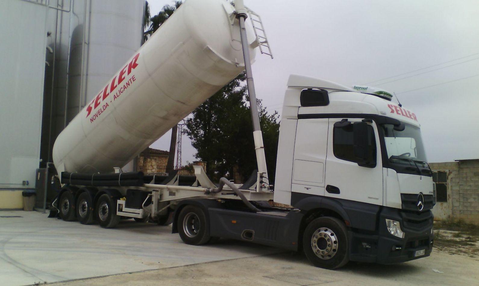 Foto 4 de Transporte de mercancías en Novelda | Transportes Seller S.L.
