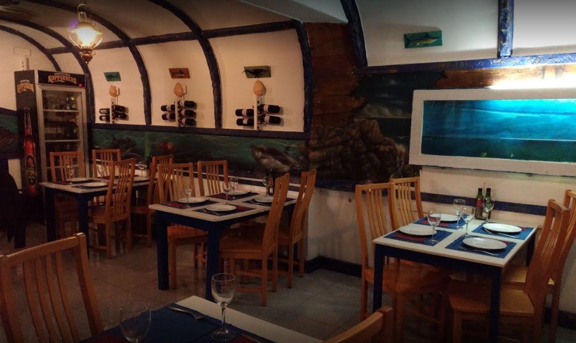 8 mesas en nuestro restaurante en Corralejo
