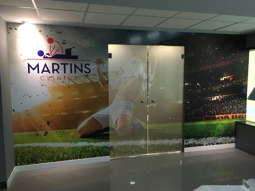 Decoración clínica Martins