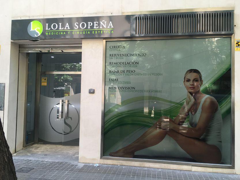 Decoración clínica Lola Sopeña
