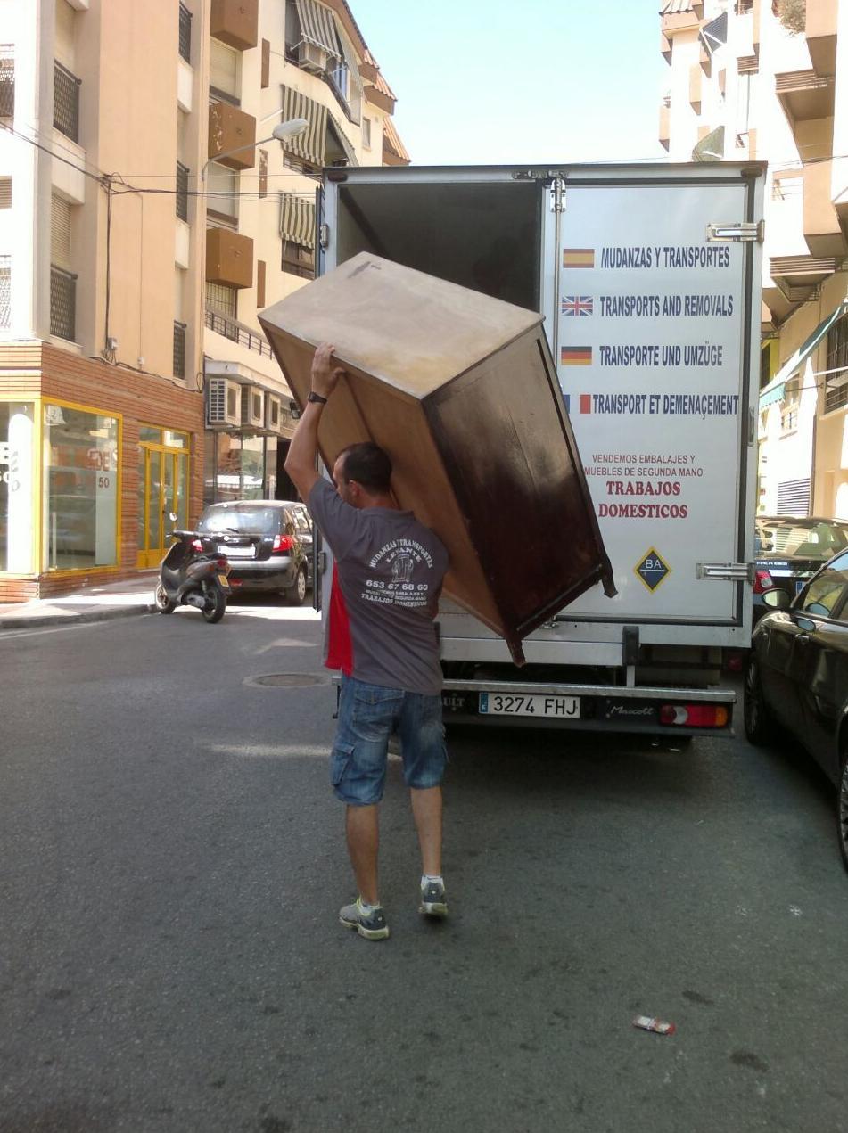 Trabajos domésticos Málaga