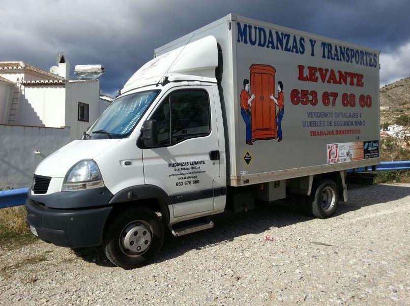 Mudanzas y transportes en Málaga