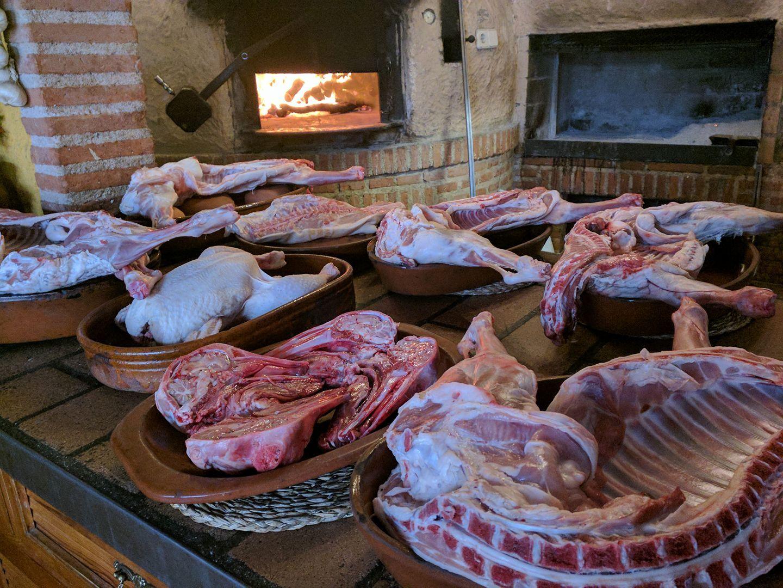 Carnes a la brasa en Bustarviejo