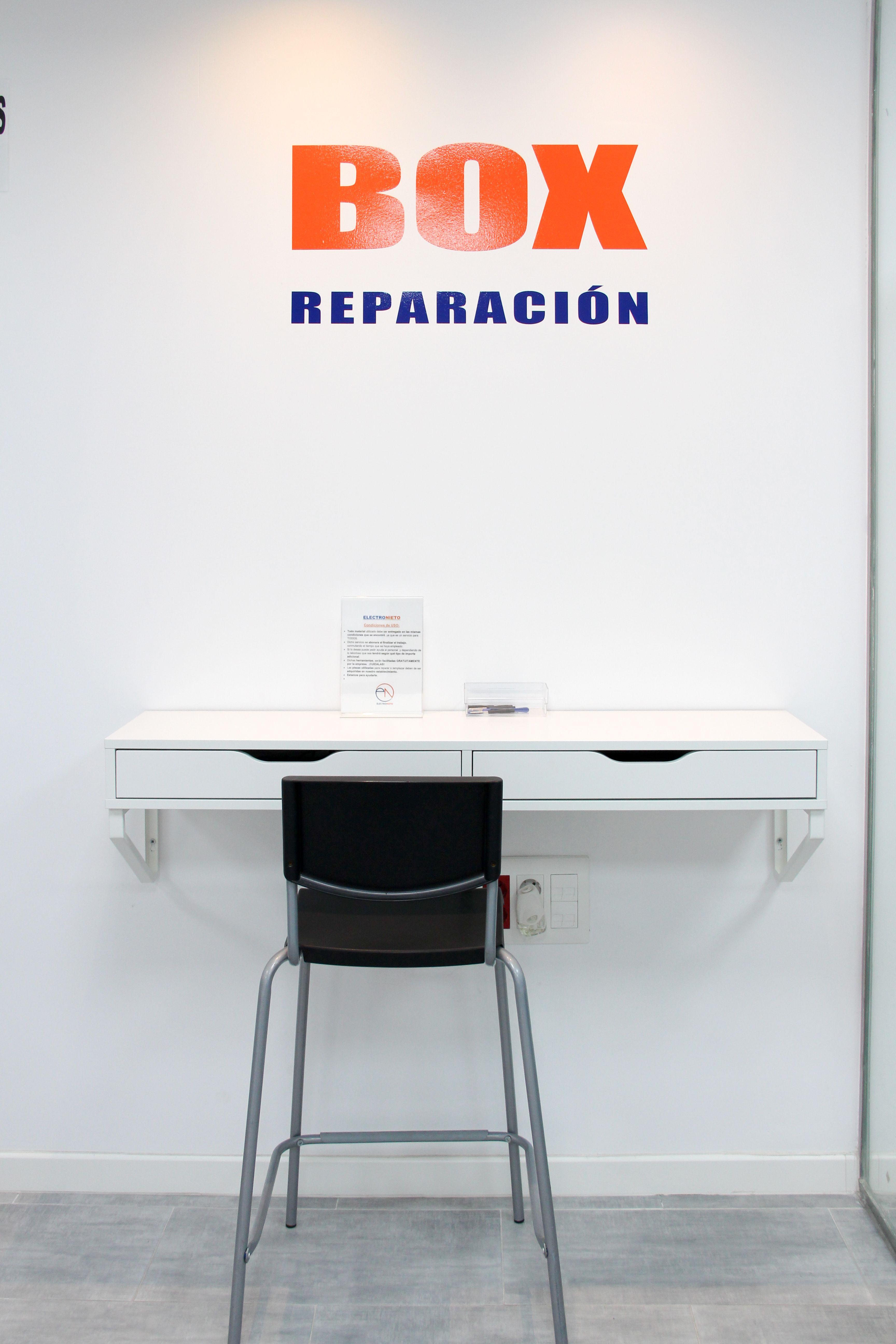 Box de reparación Electronieto