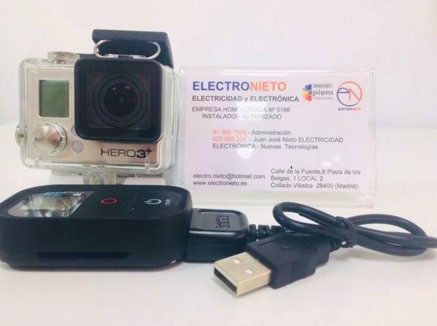 GO PRO HERO 3+ BLACK : Servicios de Electronieto