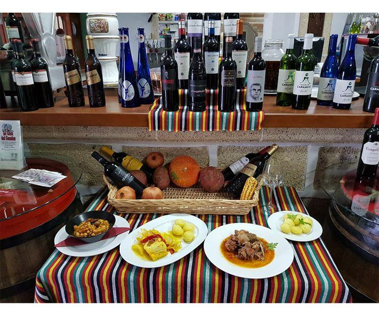 Platos tradicionales de la gastronomía canaria