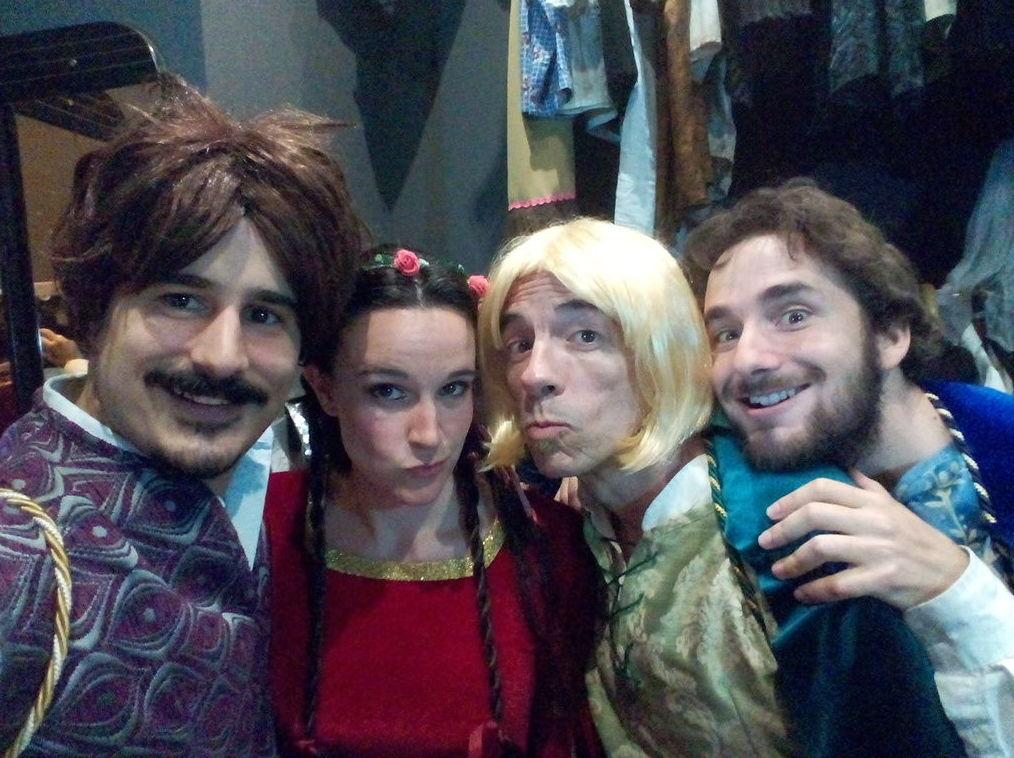 Los príncipes y la princesa más divertidos del reino