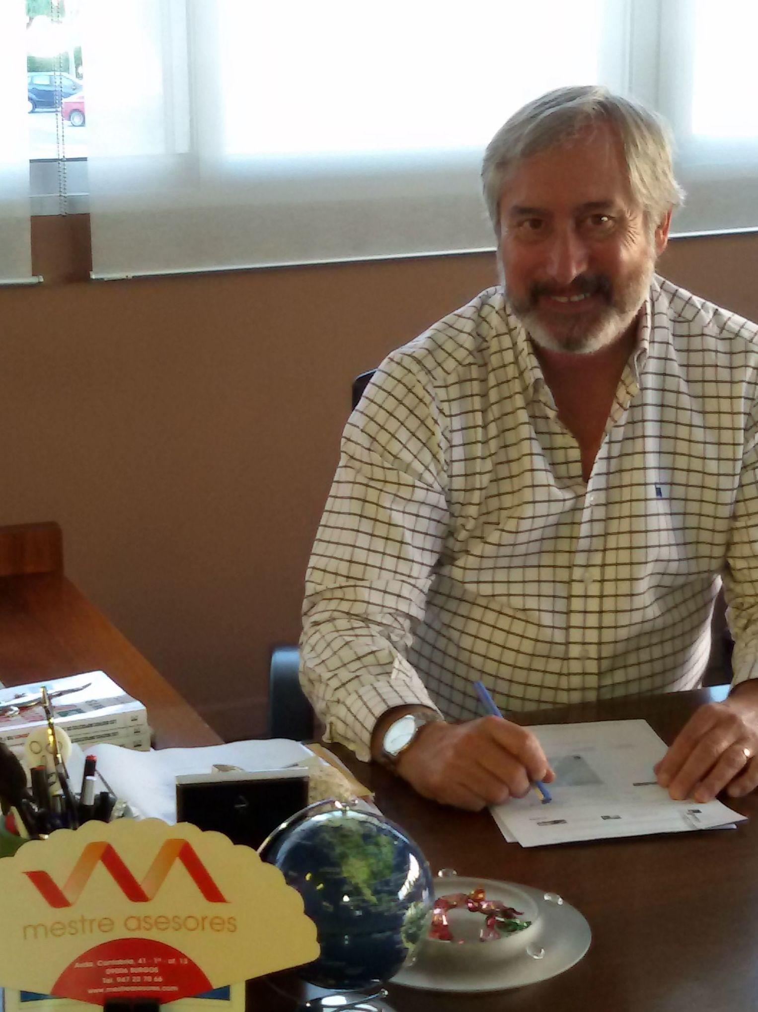 Mestre Asesores,publicación en la cara amiga del Gente Burgos el 11/11/2016