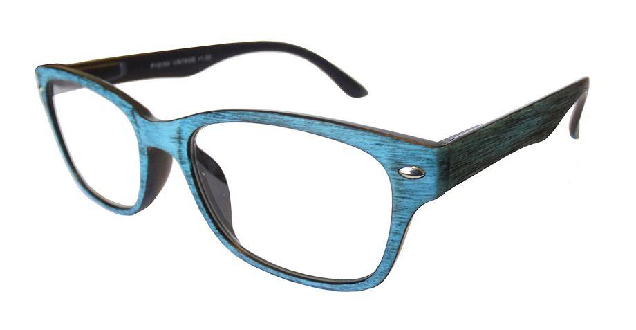 Gafas de lectura modelo Vintage azul