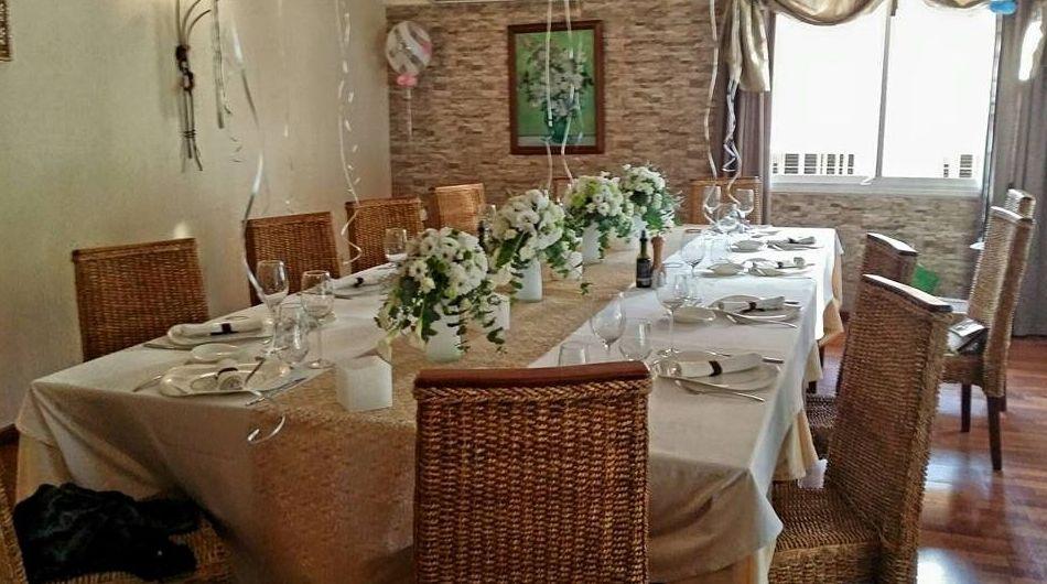 Restaurante italiano para celebraciones familiares en El Eixample