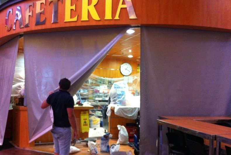 """Cafetería """"Yate"""" en el C.C. Vialia"""