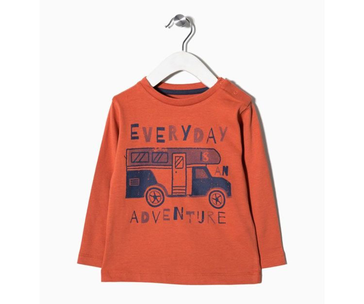 Camiseta manga larga naranja Everiday Adventure 14.99 €