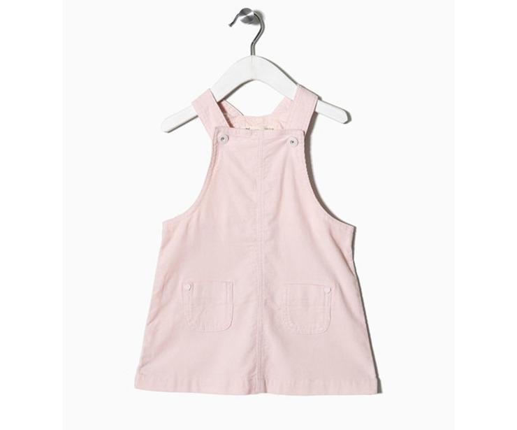 Vestido peto rosa claro antes 14.99 € ahora 10.49€