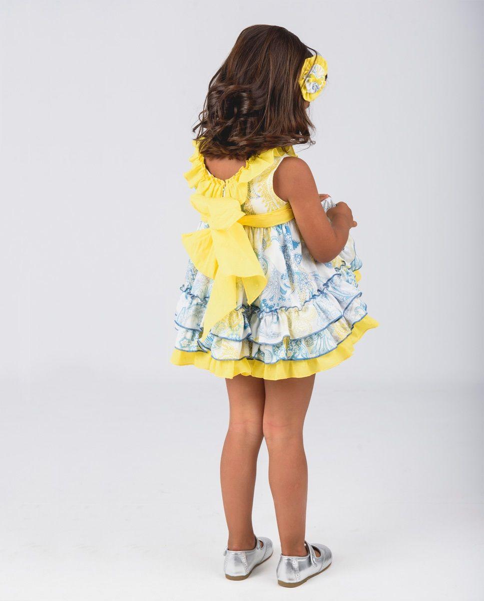 Vestido amarillo La Hormiga