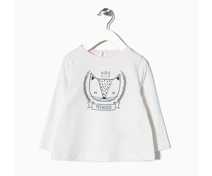 Camiseta manga larga Princess antes 4.99 € ahora 2.99€