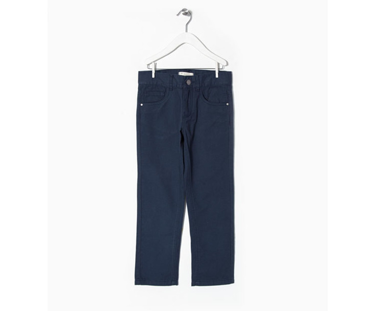 Pantalón Sarga azul oscuro 12.99 € ahora 9.10€