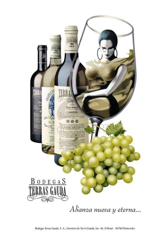 Selección de vinos blancos: Servicios de Taberna Sacromonte