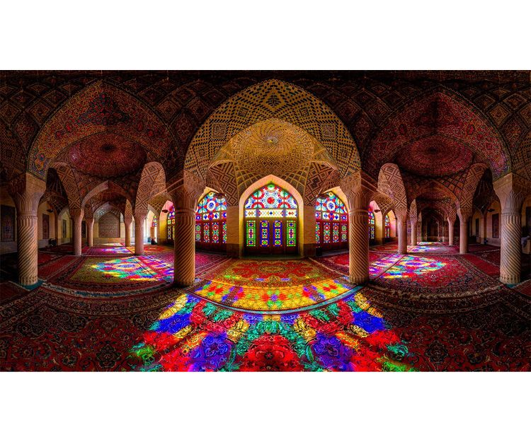 Mezquita de la ciudad de Shiraz