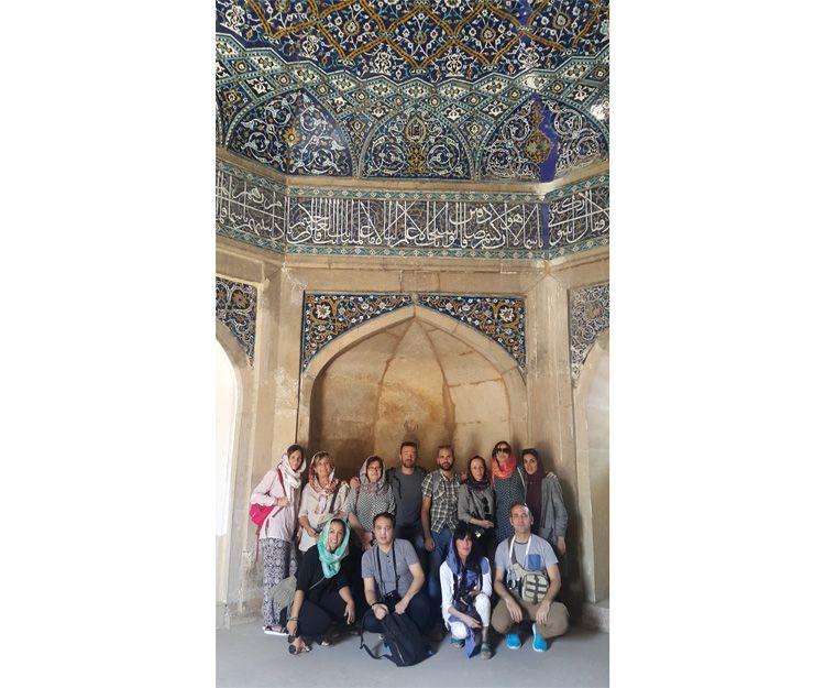 Grupos de visita a la ciudad de Shiraz