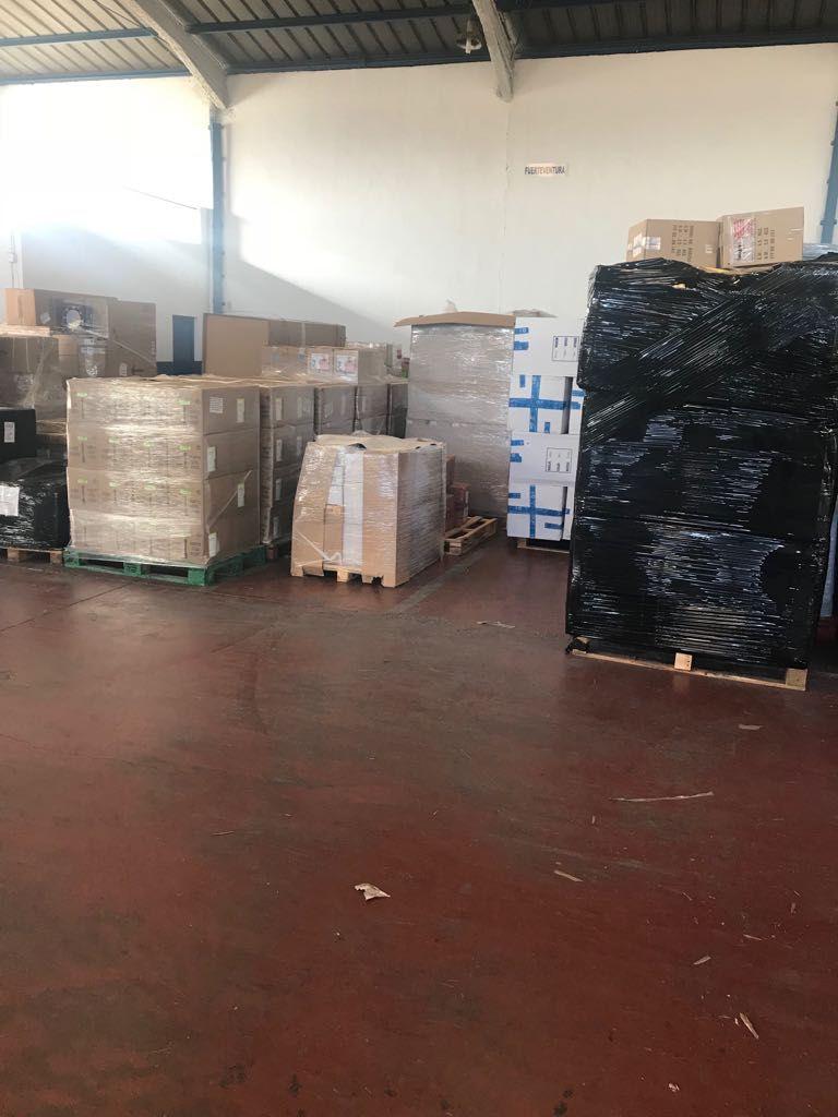 Mercancía paletizada: Servicios de Transportes Pons