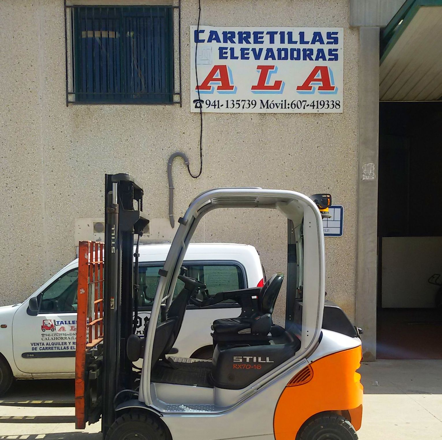 Foto 1 de Carretillas en Calahorra | Carretillas Elevadoras A.L.A., S.L.