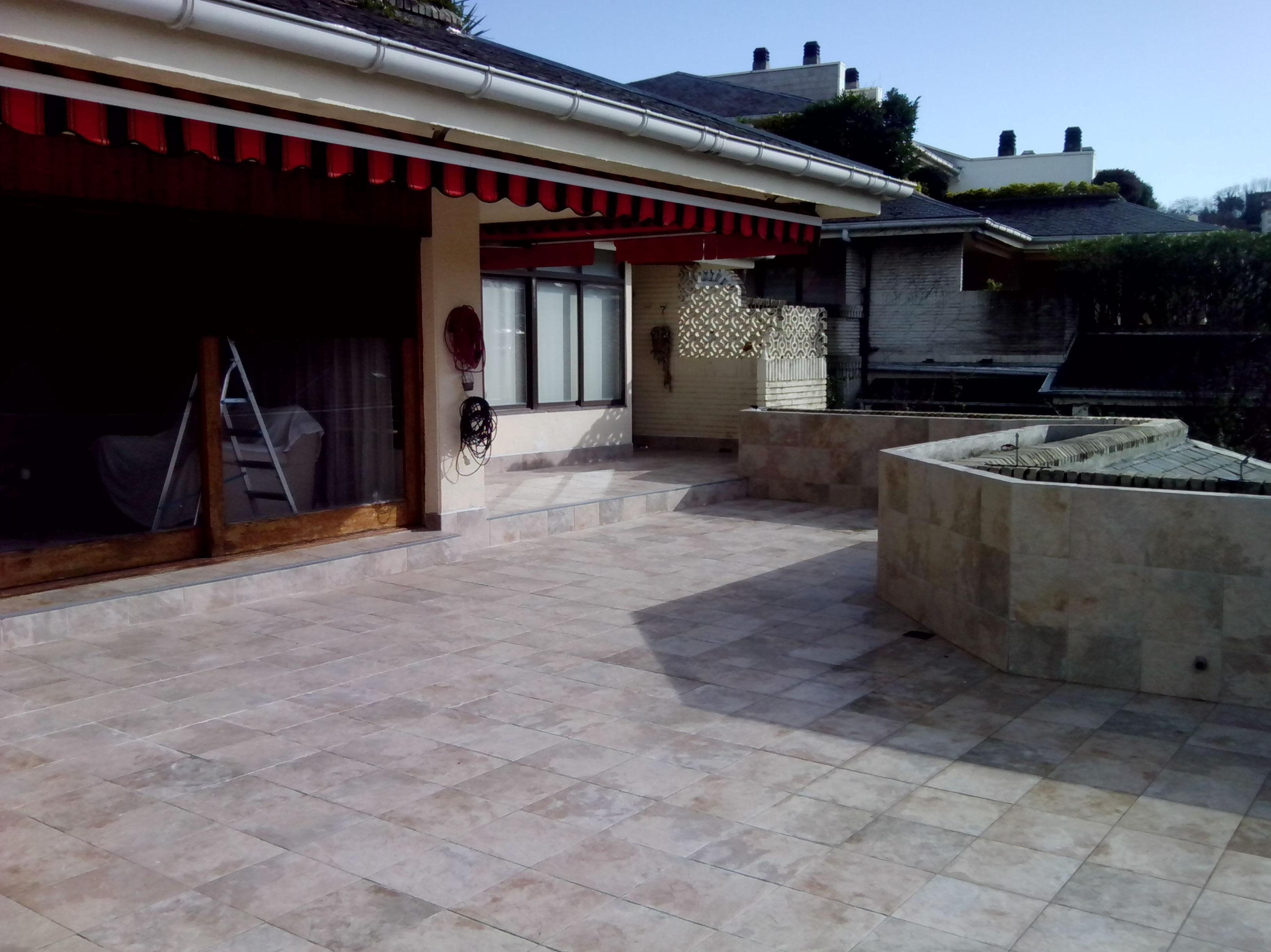 Rehabilitación de terrazas