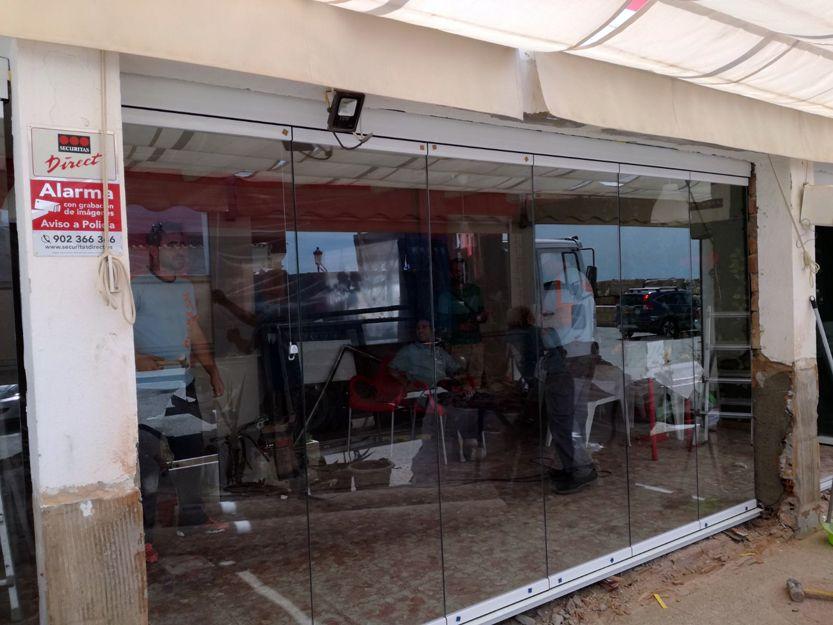 Cerramientos de cristal en Estepona