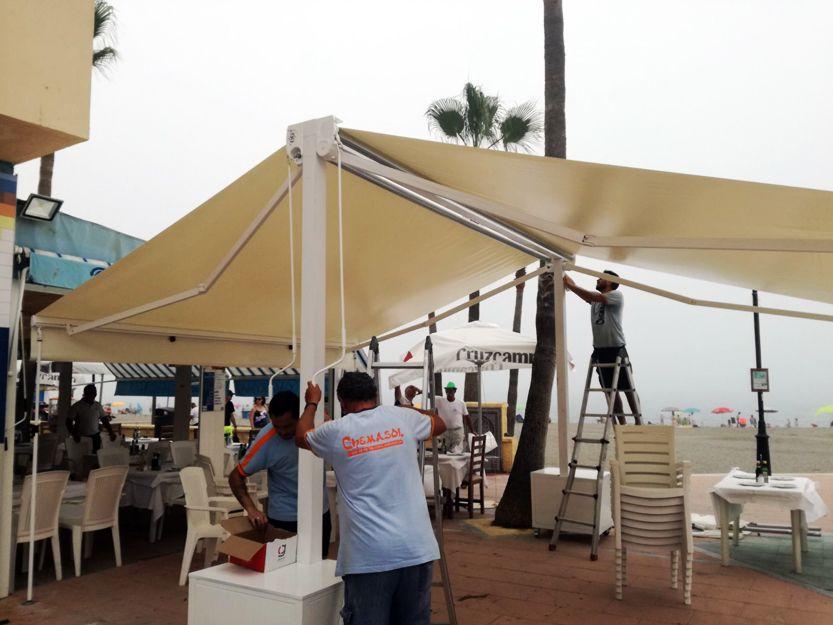 Instalación de toldos en Estepona