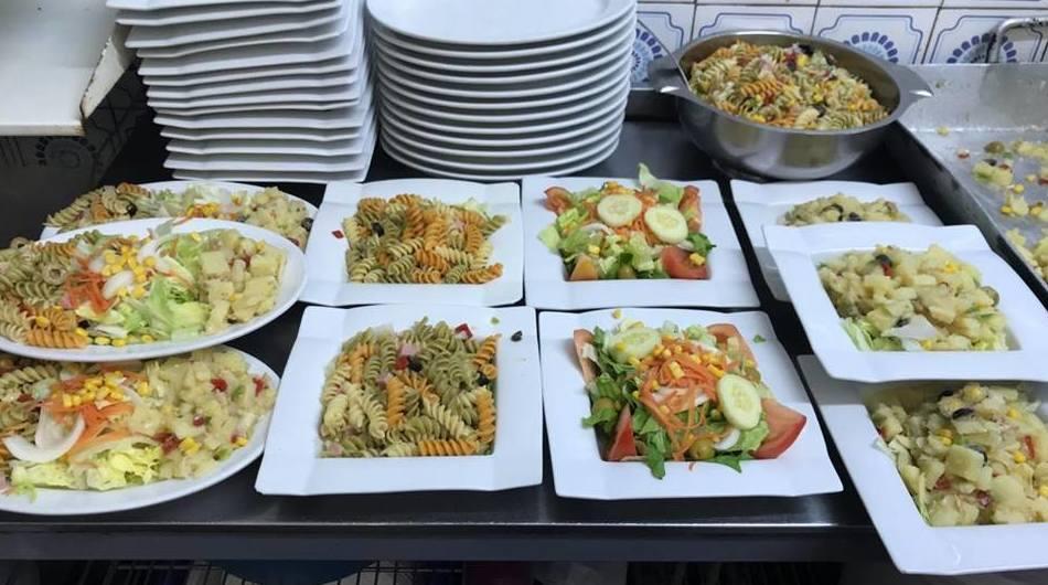 Amplia carta de ensaladas para todos los gustos