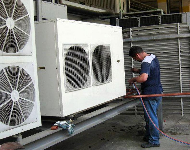 Refrigeración industrial en el Eixample, Barcelona