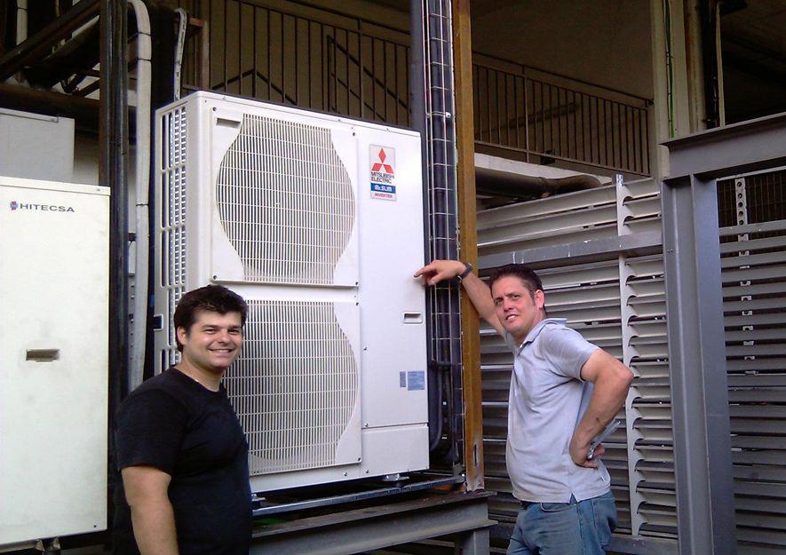 Instaladores de aire acondicionado industrial en Barcelona