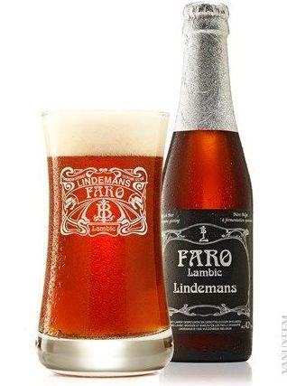 Lindemans Faro (4,2%): Carta de Cafeeke Cervezas y Tapas de Bélgica