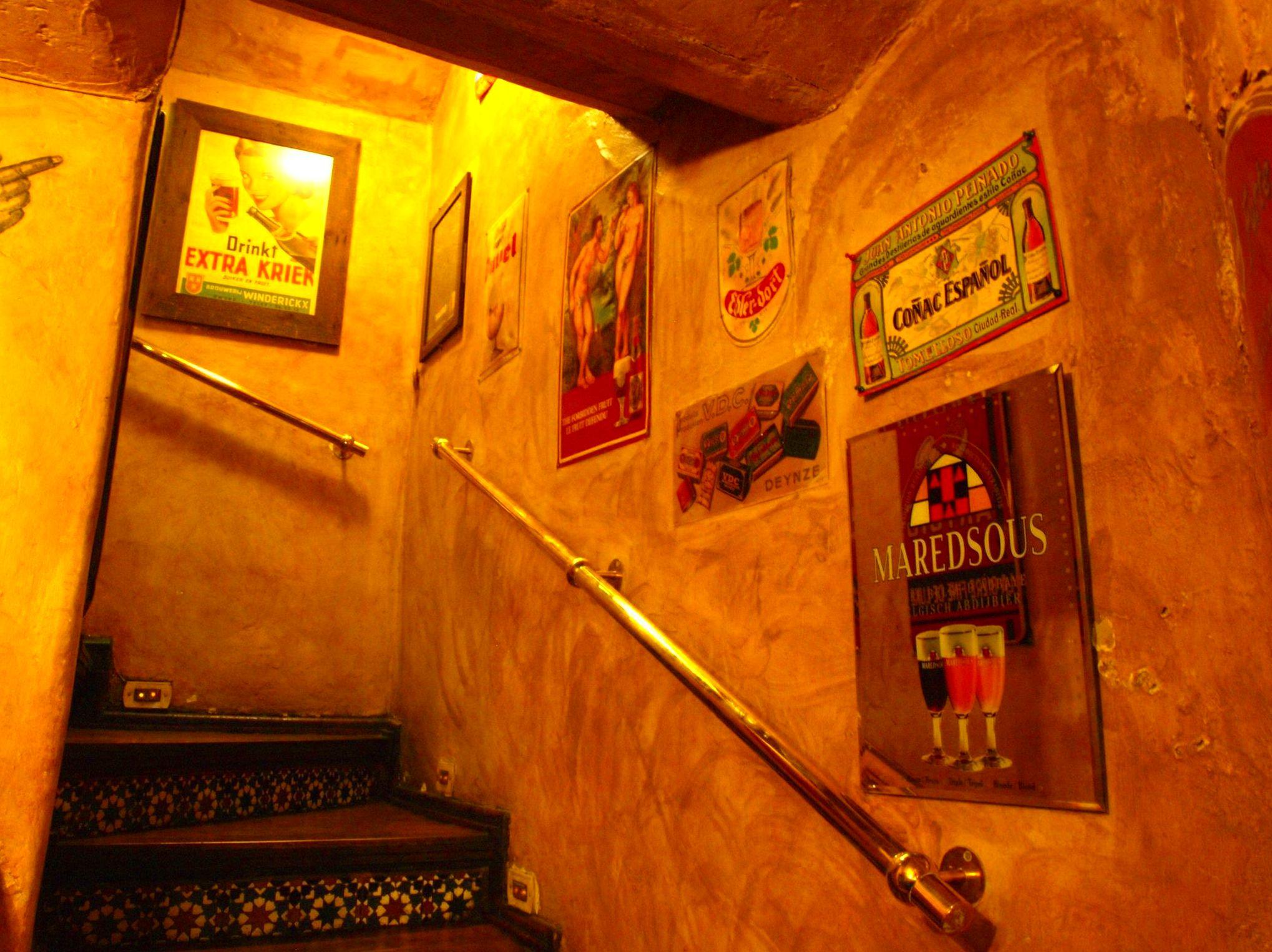 ¿Prefieres estar en el salón de arriba?