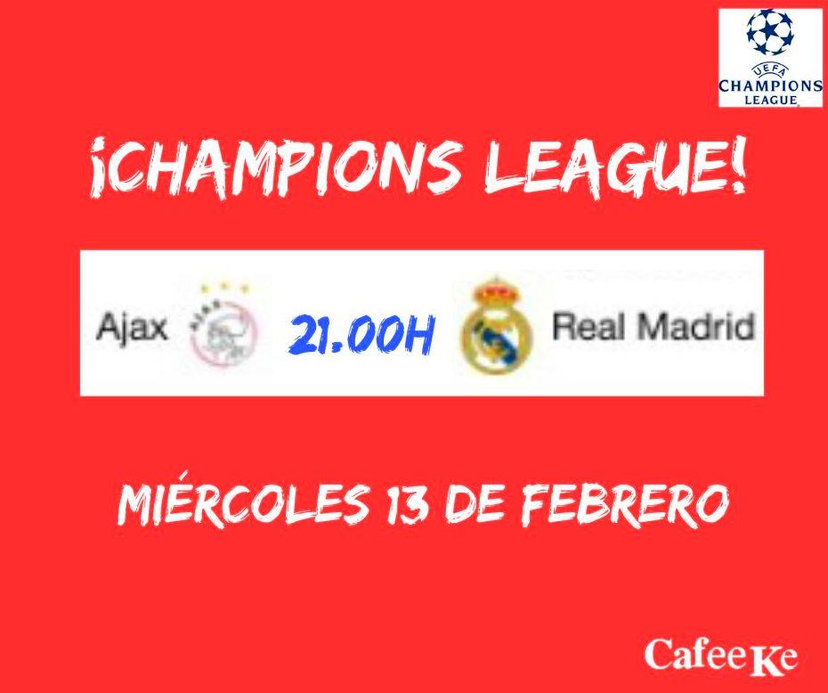 "Gran partido de ""Champions League"""