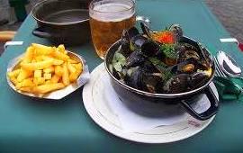 Mejillones (Mussels): Carta de Cafeeke Cervezas y Tapas de Bélgica