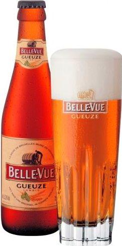 Belle-Vue Gueuze Color dorado