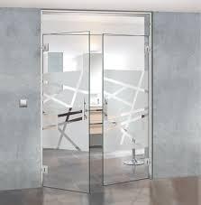 Puertas de cristal productos de puertas miret - Puertas abatibles cristal ...