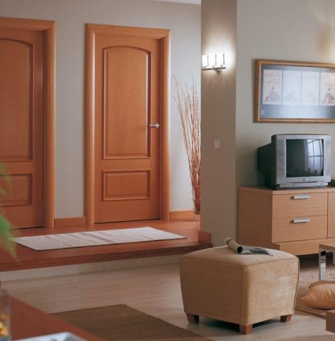 Curva catalana productos de puertas miret for Puertas madera interiores catalogo