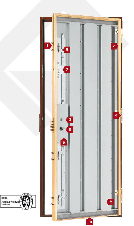 Puerta acorazada a precio de blindada es posible for Precios de puertas acorazadas
