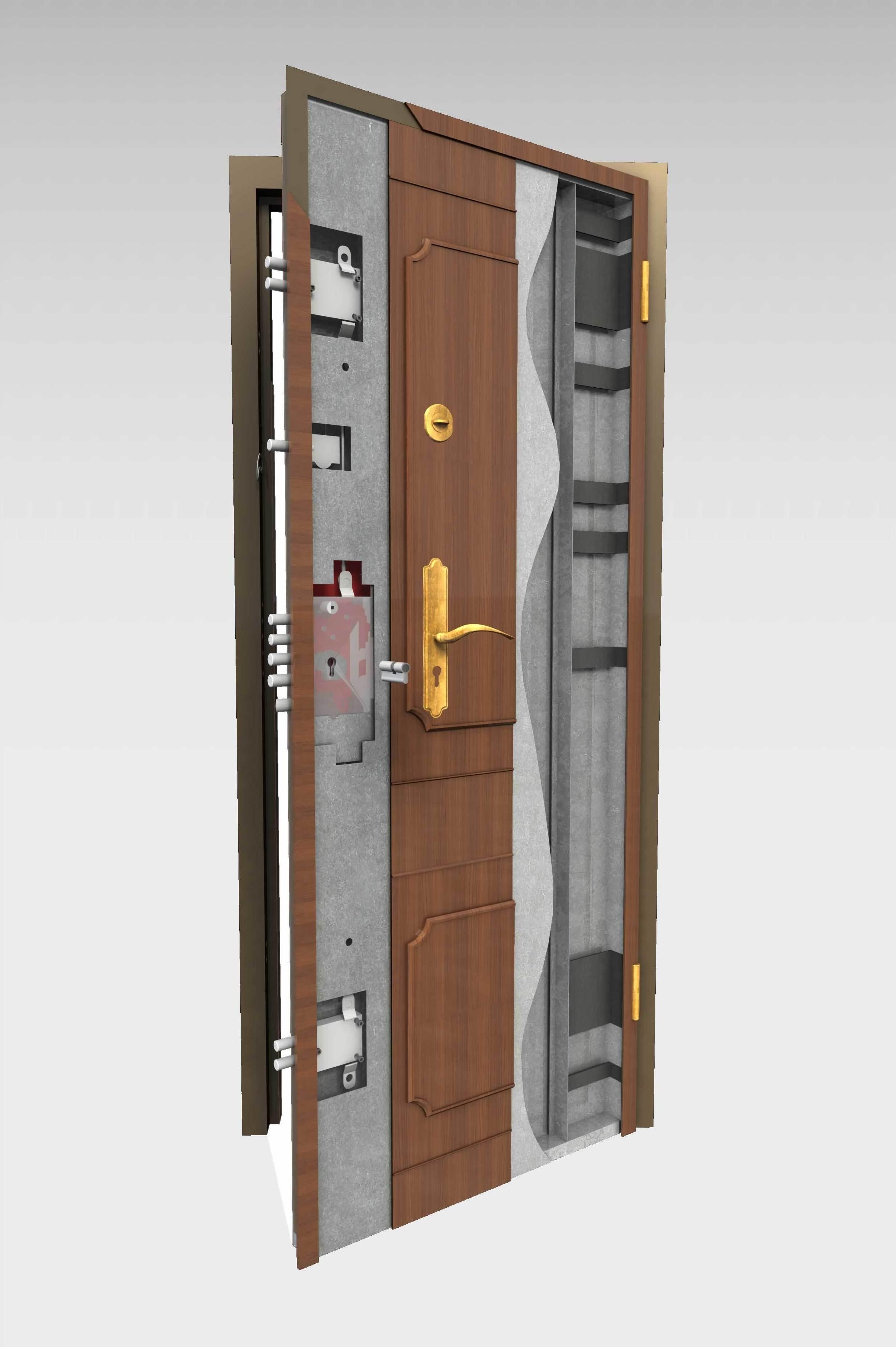 9 2 acorazada 310 productos de puertas miret for Puertas galvanizadas medidas