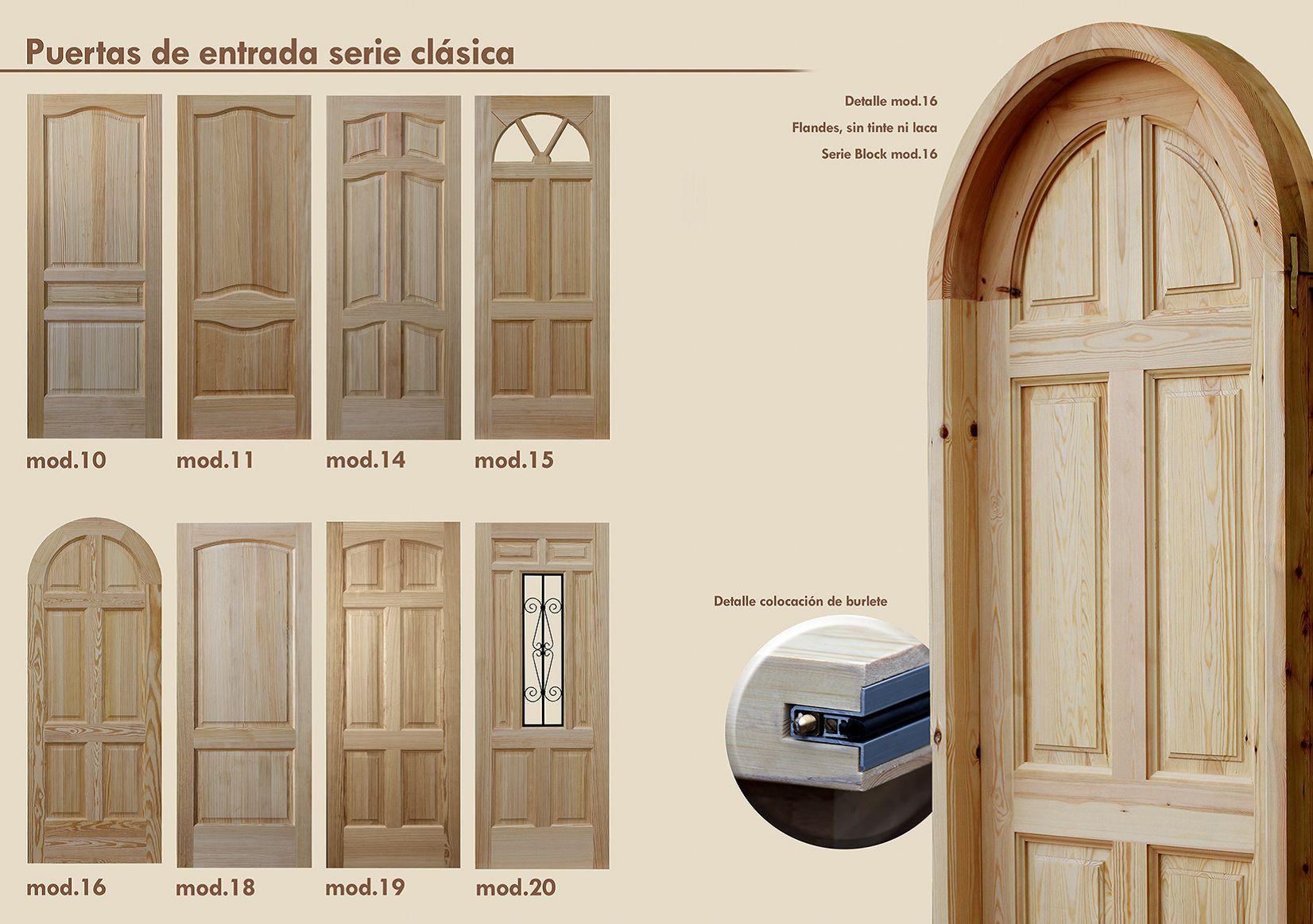 Puertas de entrada rusticas productos de puertas miret - Puertas de paso rusticas ...