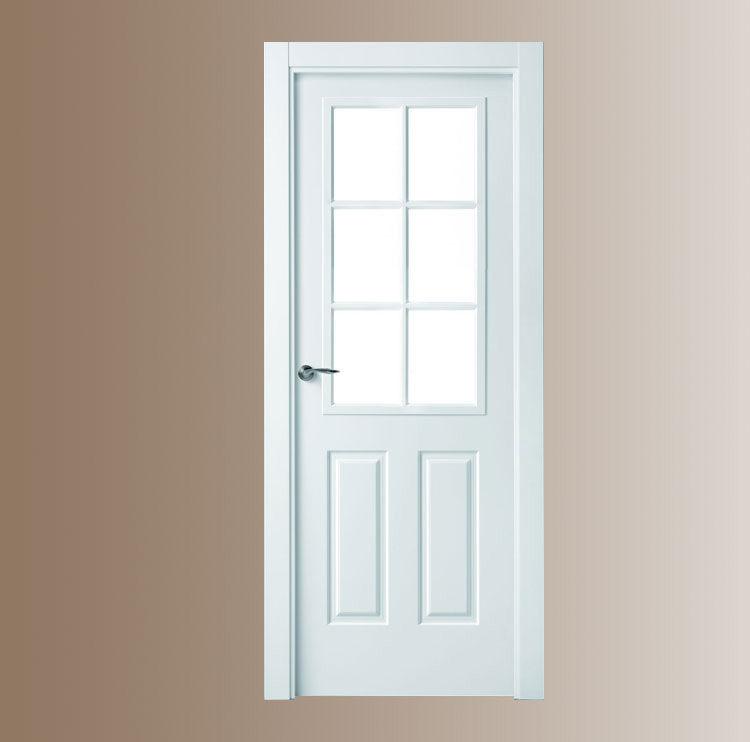 puerta lacada americana productos de puertas miret On puertas americanas madera
