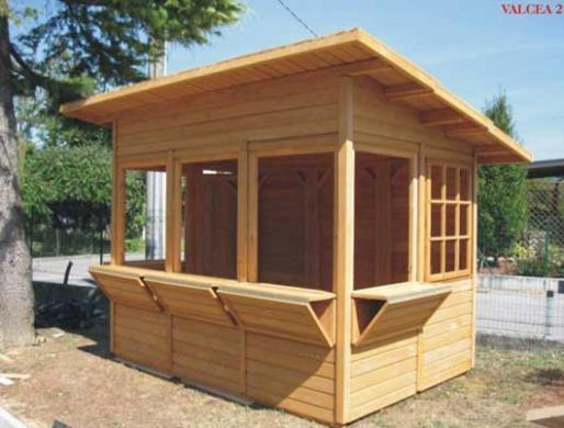 Kioscos productos de puertas miret for Fotos de kioscos de madera
