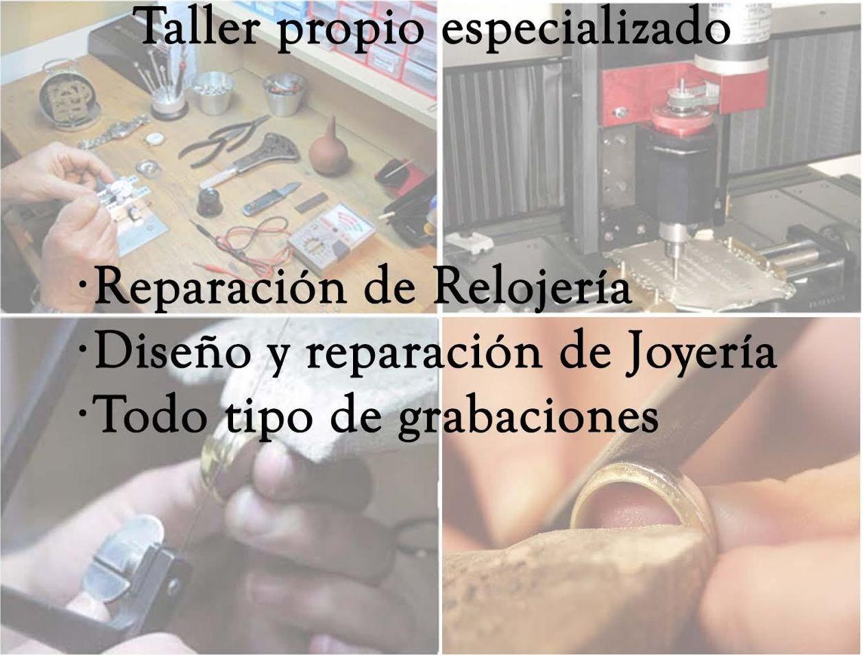 Reparación de relojería