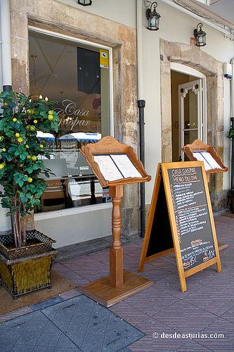 Foto 1 de Cocina asturiana en Ribadesella | Restaurante Casa Gaspar