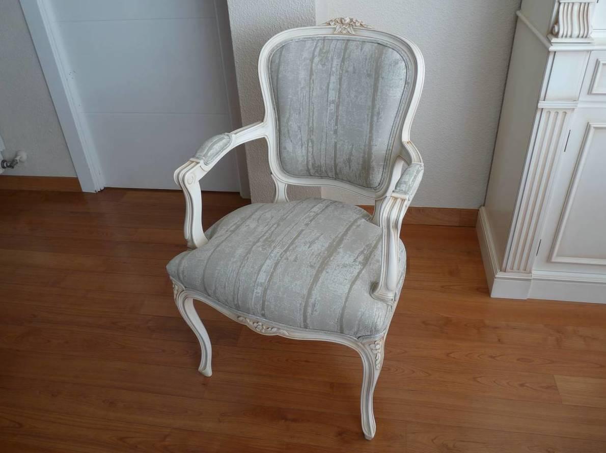 sillas restauradas lacado envejecido